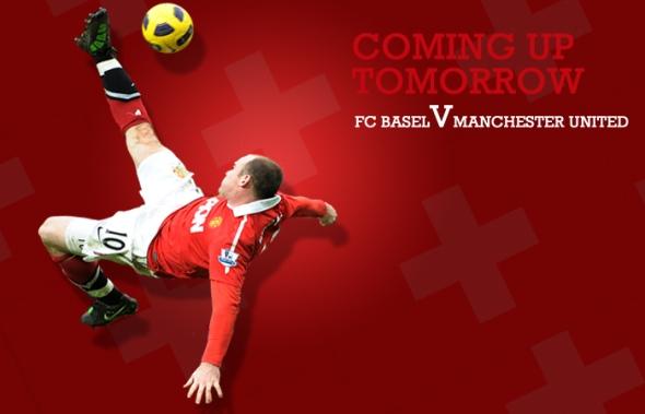 FC Basel v Manchester United